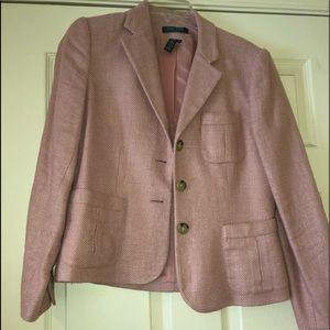 Ralph Lauren pink blazer
